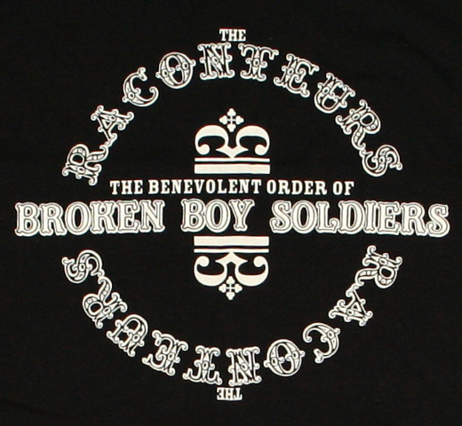 The Raconteurs / Broken Boy Soldiers Tee 2 (Black)