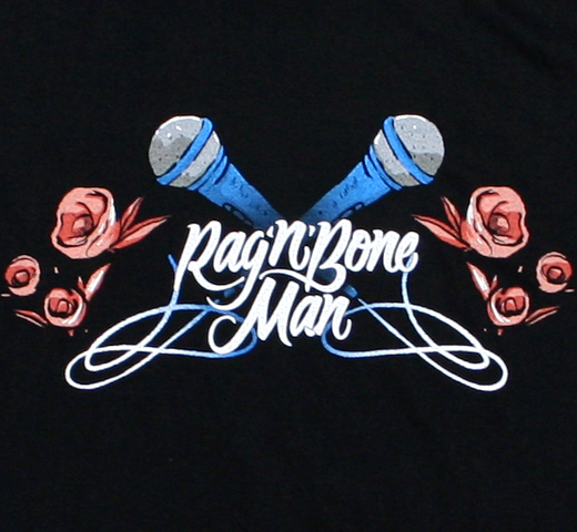 Rag'n'Bone Man / Microphone Tee (Black)