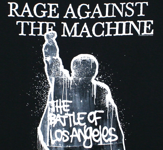 Rage Against the Machine / The Battle of Los Angeles Tee 2 (Black)
