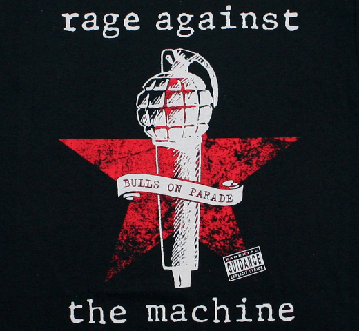 Rage Against the Machine / Bulls on Parade Tee (Black)