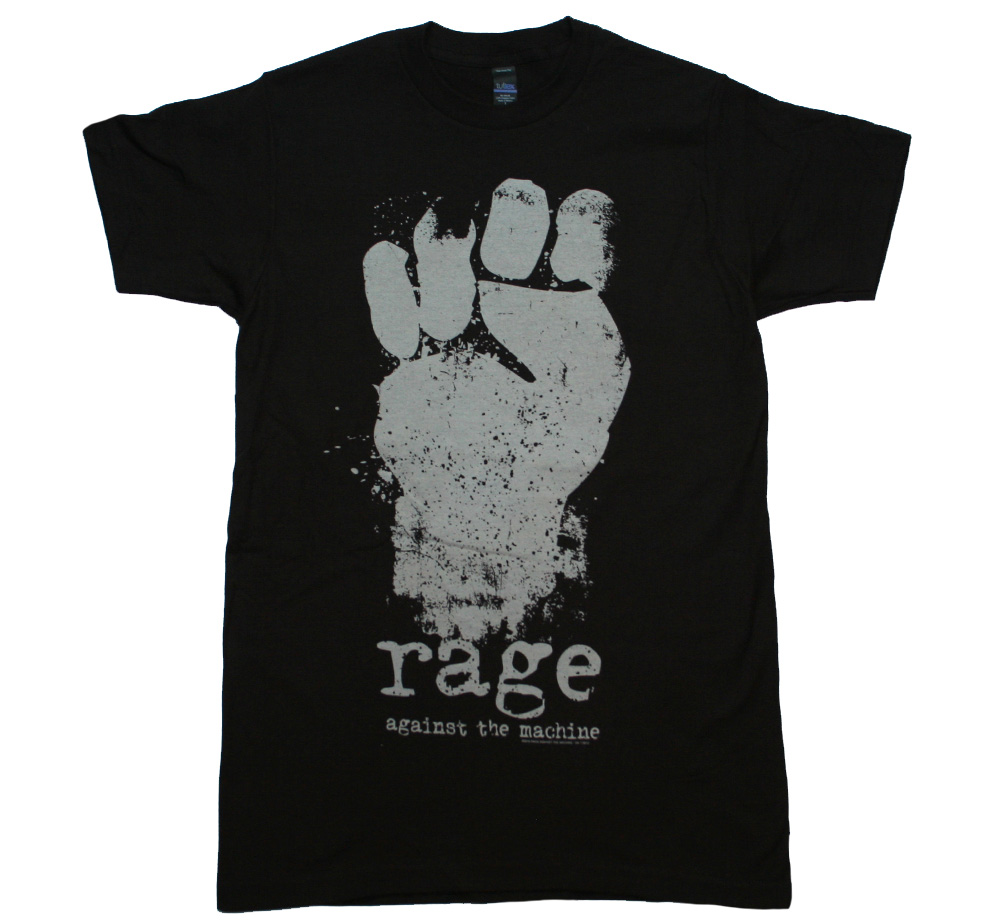Rage Against The Machine / Fist Tee (Black)