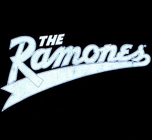 Ramones / Team 'The Ramones' Tee (Black)