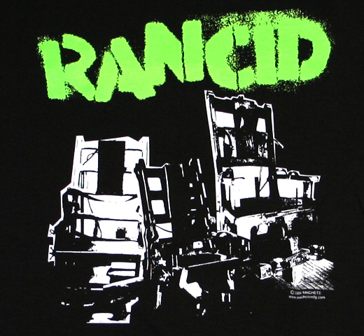 Rancid / Electric Chairs Tee