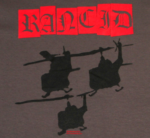 Rancid / Helicopters Tee