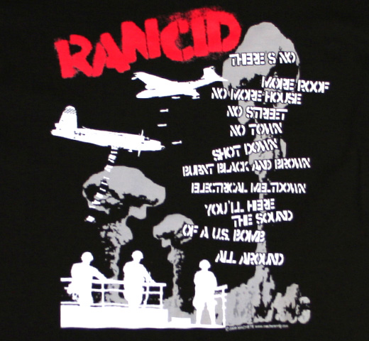 Rancid / Let Me Go Tee