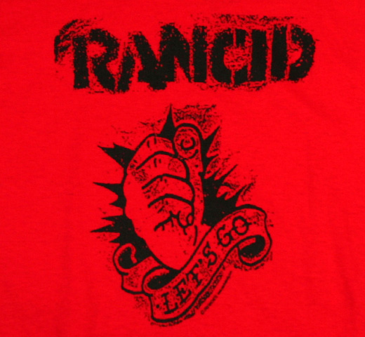 Rancid / Let's Go Tee (Red)