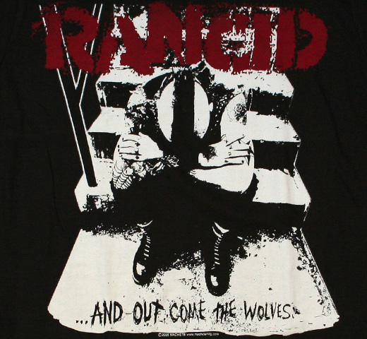 Rancid / ...And Out Come The Wolves Tee