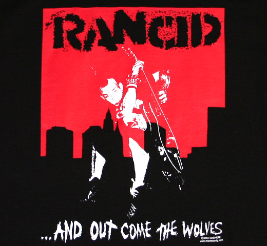 Rancid / ...And Out Come The Wolves Tee 2