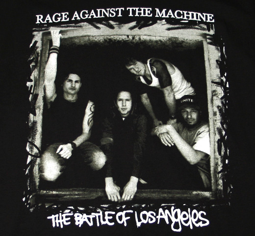 Rage Against The Machine / The Battle Of Los Angels Tee