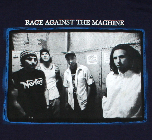 Rage Against The Machine / Elevator Photo Tee (Navy)