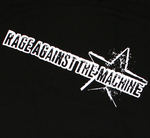 Rage Against The Machine / Ragin Star tee