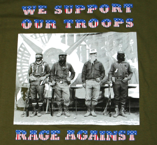 Rage Against The Machine / We Support Our Troops Tee