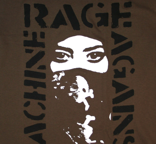 Rage Against The Machine / Voice Tee (Charcoal)