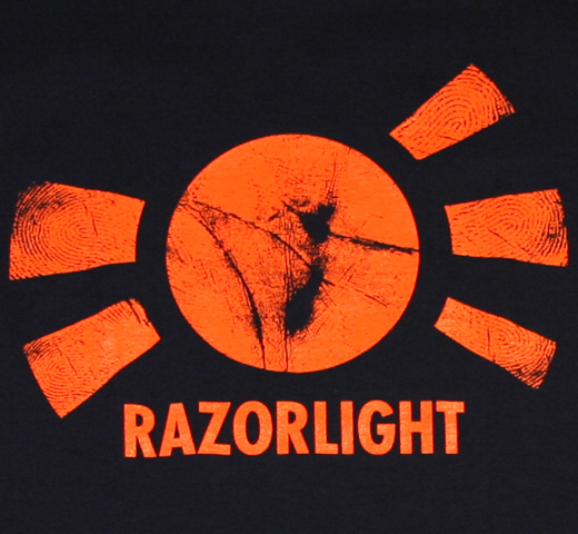 Razorlight / Sun Tee (Dark Navy)