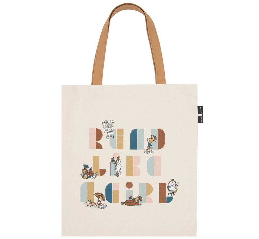 [Out of Print] Read Like a Girl Tote Bag