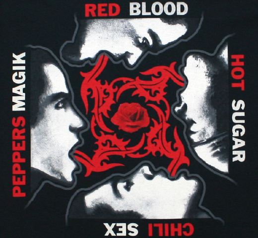 Red Hot Chili Peppers / Blood Sugar Sex Magik Tee 3 (Black)