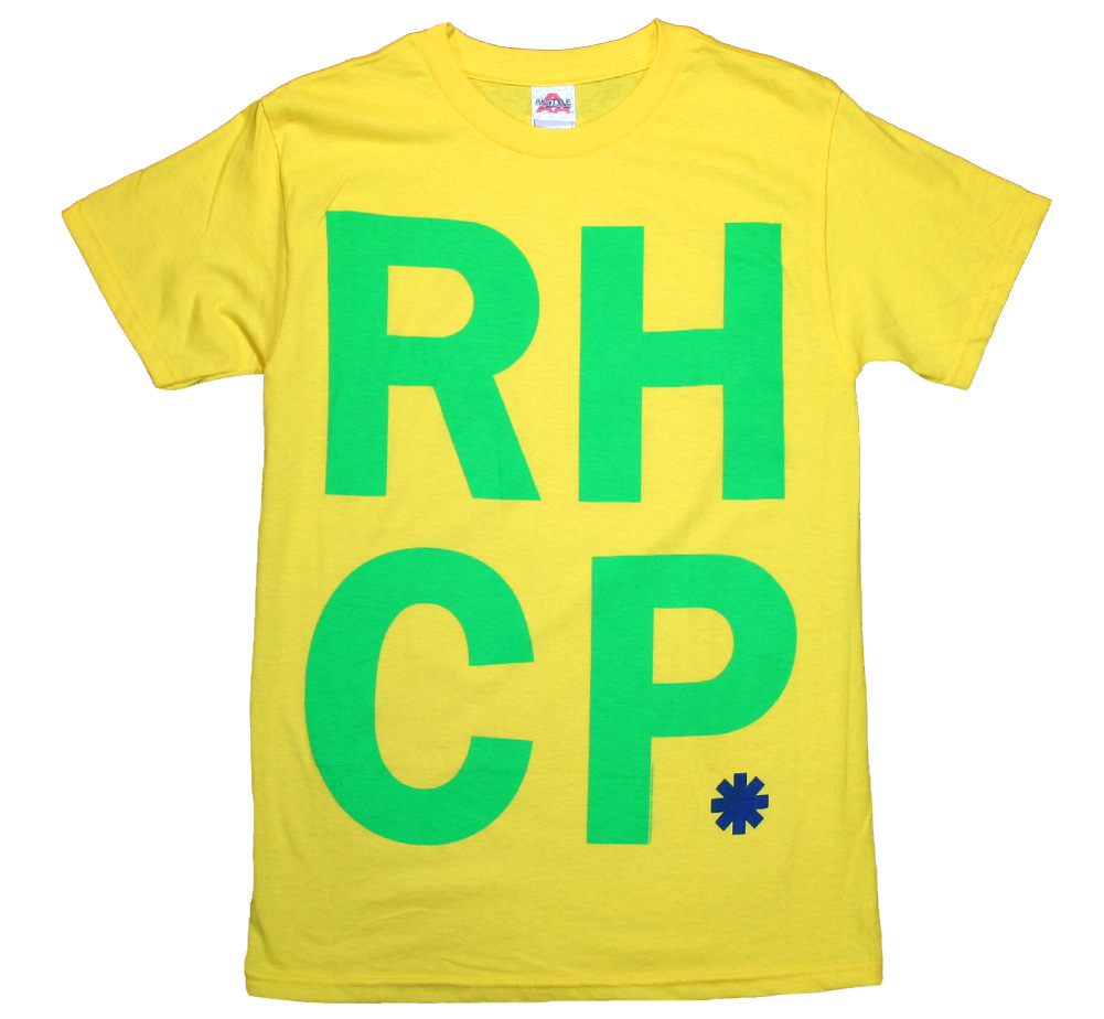 Red Hot Chili Peppers / RHCP. Tee (Yellow)