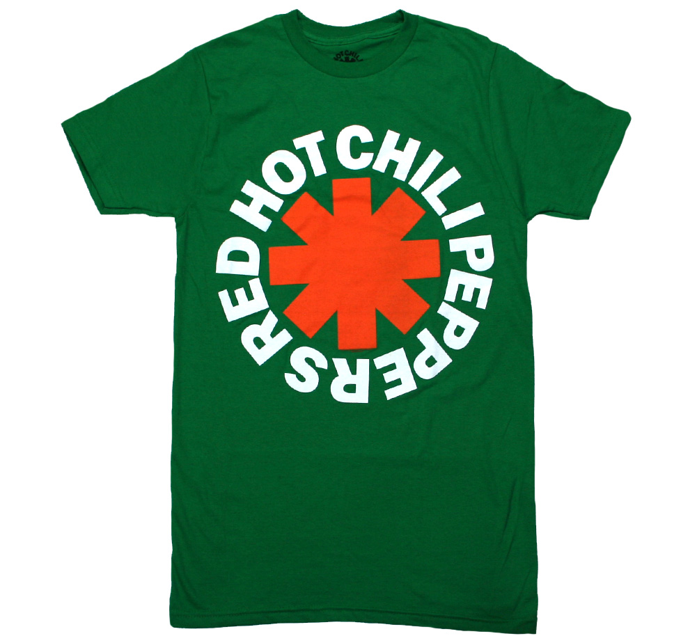 Red Hot Chili Peppers / Asterisk Tee (Green)