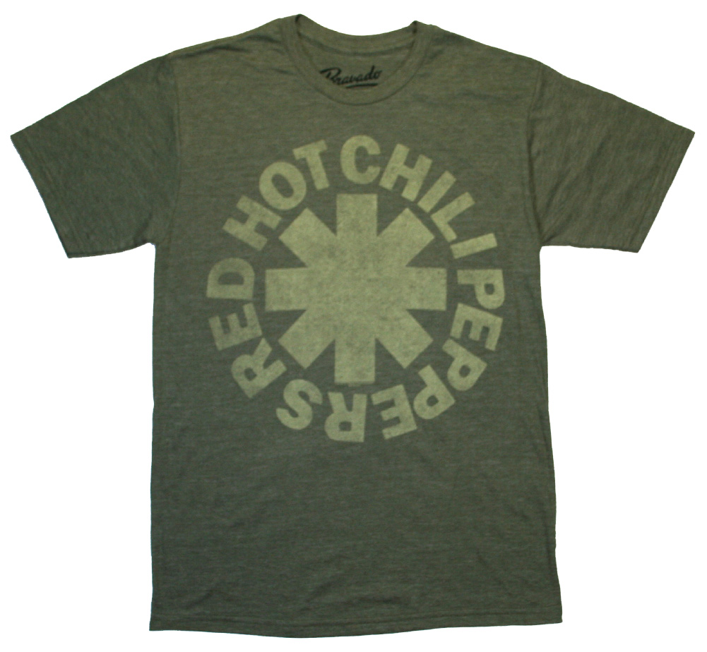 Red Hot Chili Peppers / Tonal Asterisk Tee (Army Green)
