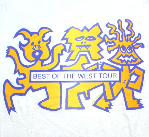 Red Hot Chili Peppers / Best of the West Tour Tee (White)