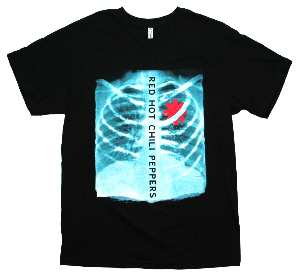 Red Hot Chili Peppers / X-Ray Tee (Black)