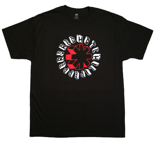 Red Hot Chili Peppers / Hand Drawn Tee (black)