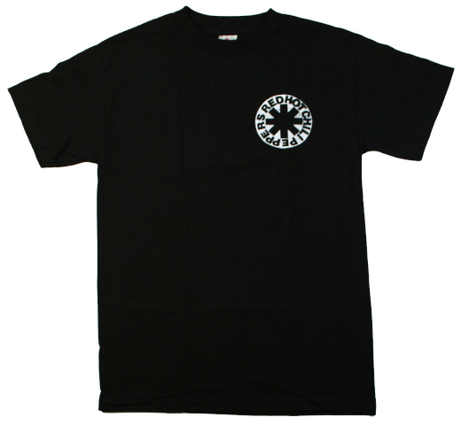 Red Hot Chili Peppers / Plain Jane Tee (Black)