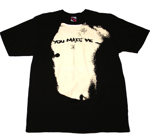 Richard Hell & The Voidoids / You Make Me Big Print Tee (Black)