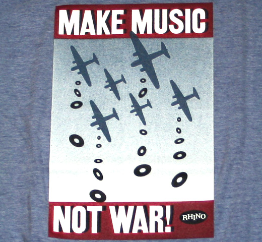 Rhino / Make Music Not War Tee