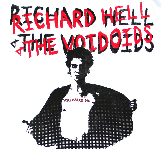 Richard Hell & The Voidoids / Blank Generation Tee (White)