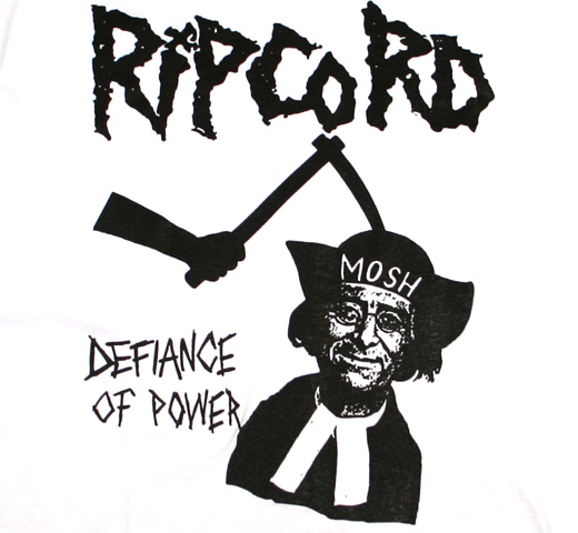 Ripcord / Defiance Of Power Tee