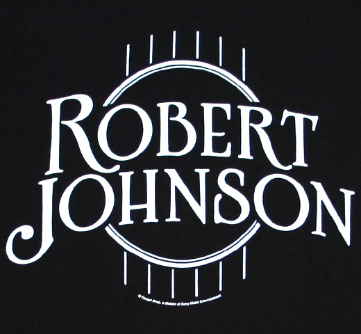 Robert Johnson / Logo Tee (Black)