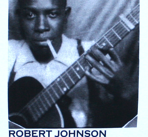 Robert Johnson / Self Portrait Tee (White)