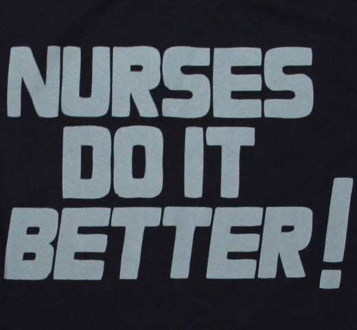 【Worn By】 Robert Plant / Nurses Do It Better Tee (Navy)