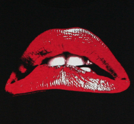 The Rocky Horror Picture Show / Lips Tee (Black)