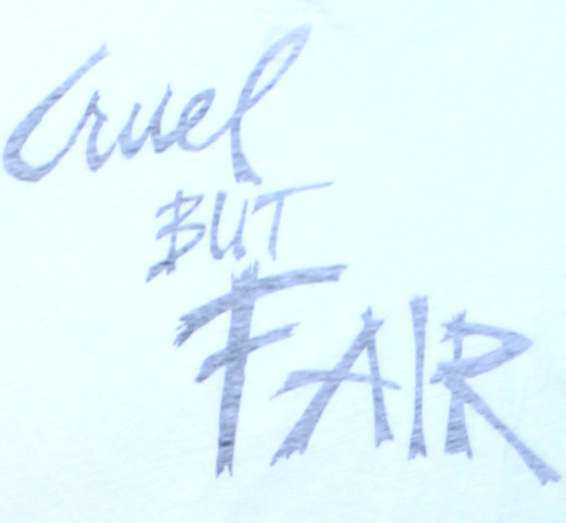 【Worn Free】 Rod Stewart / Cruel But Fair Tee (White)