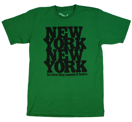 【Worn Free】 Rod Stewart / New York New York Tee (Kelly)