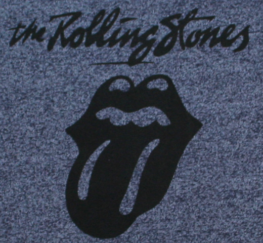 【Worn By】 The Rolling Stones / 40 Licks Tee (Grey/Navy)