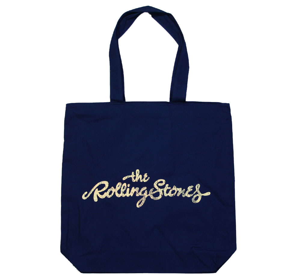 The Rolling Stones / 50th Anniversary Tote Bag (Navy)