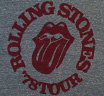 The Rolling Stones / 78 Tour Tee (Heather Grey)