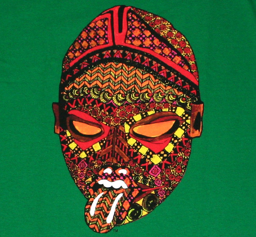 The Rolling Stones / African Mask Tee