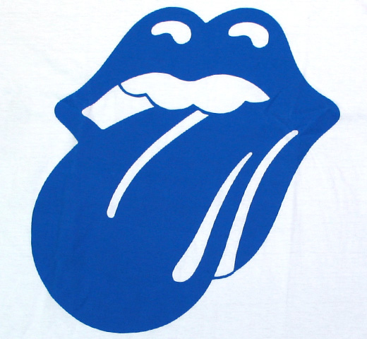The Rolling Stones / Blue & Lonesome 72 Logo Tee (White)