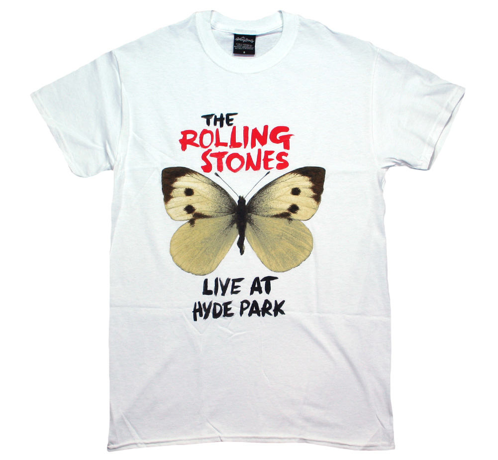 The Rolling Stones / Live at Hyde Park Tee (White)