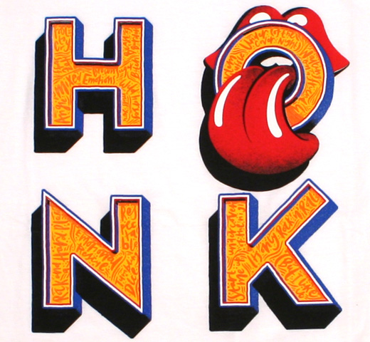 The Rolling Stones / Honk Tee 2 (White)
