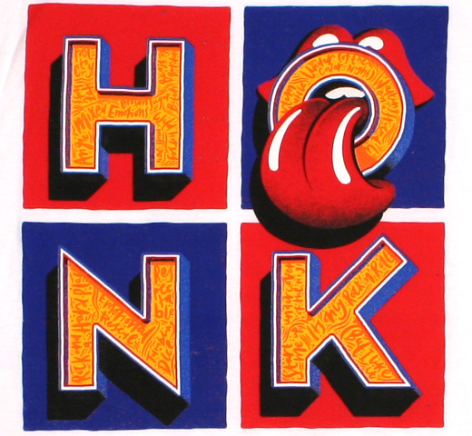 The Rolling Stones / Honk Tee (White)