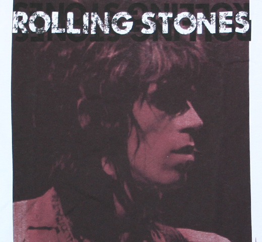 The Rolling Stones / Keith Richards Portrait Tee (White)