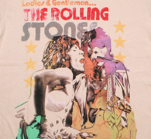 The Rolling Stones / Ladies & Gentlemen Tee (Sand)