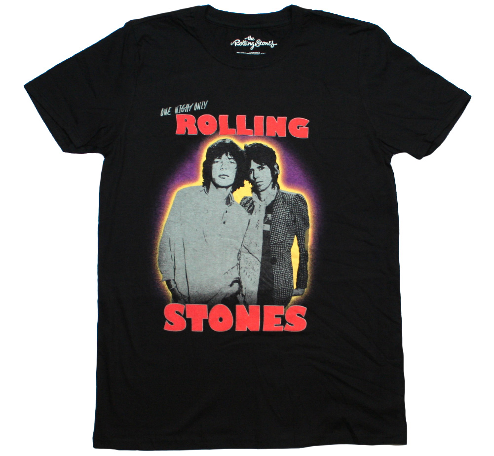 The Rolling Stones / Mick & Keith Tee (Black)
