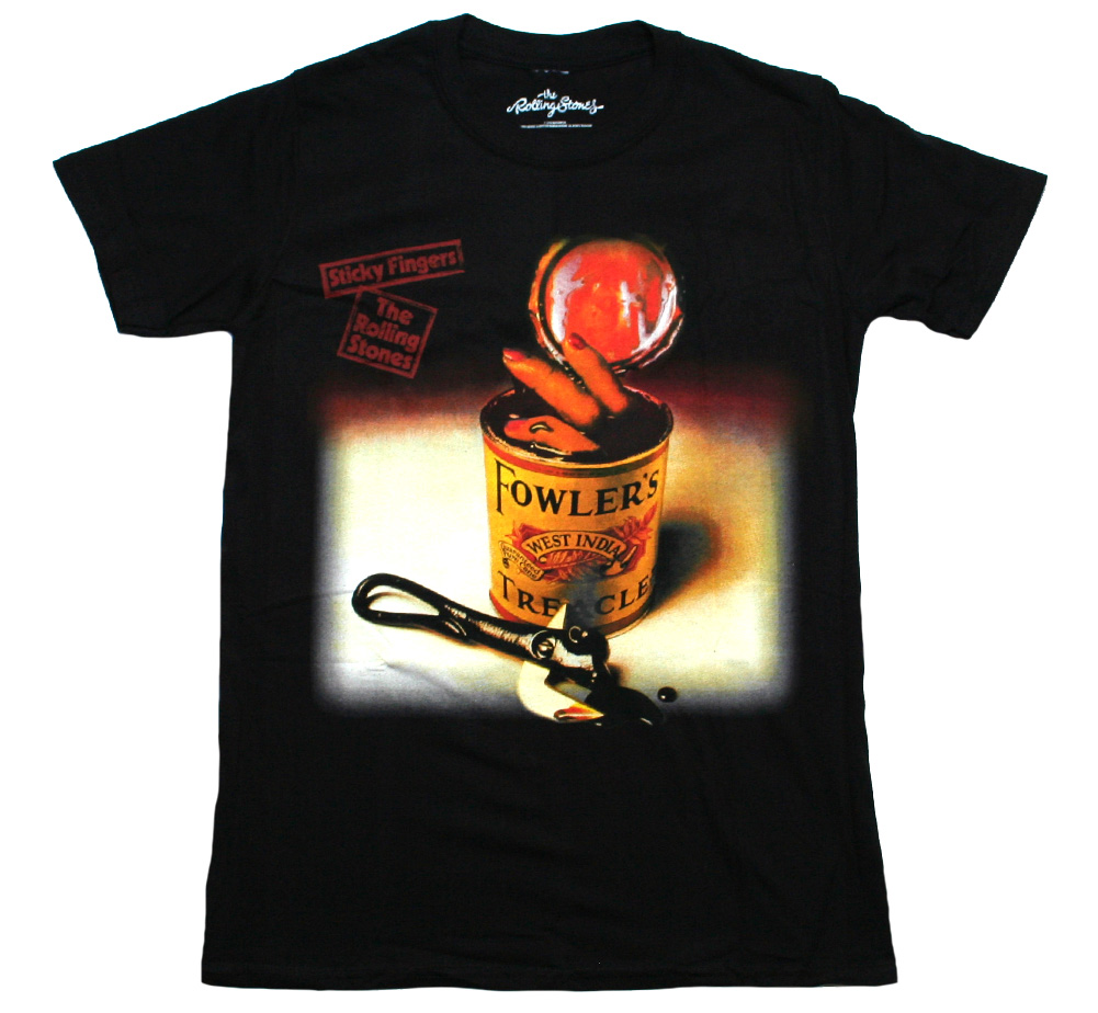The Rolling Stones / Sticky Fingers Spanish Edition Tee (Black)