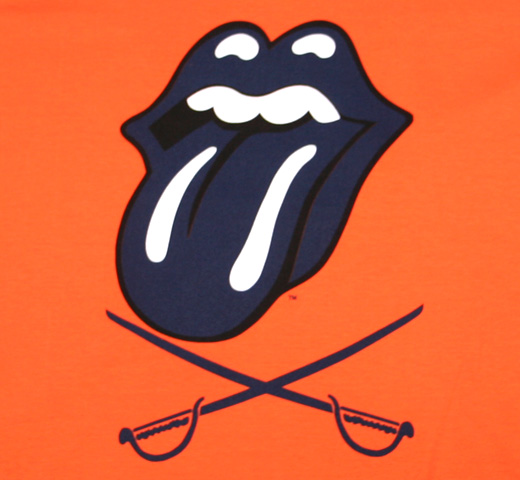 The Rolling Stones / Charlottesville Tee (Ladies)